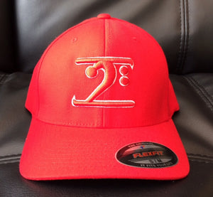Lathon Bass Wear Hat - Red/Red - S/M