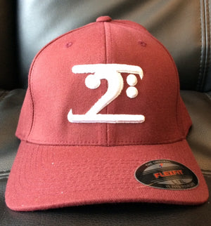 Lathon Bass Wear Hat - Maroon/White - L/XL