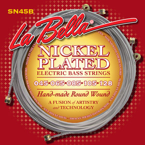 La Bella Nickel Plated Electric Bass Strings - 5 String Set