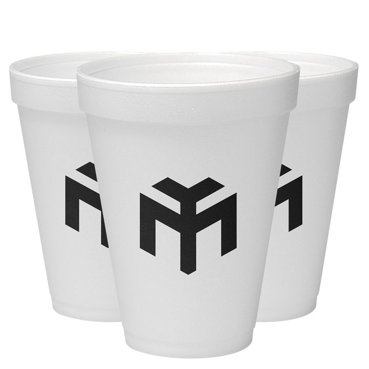 Young Money Styrofoam Cups 3 Pack