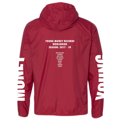 Young Money Young Money Windbreaker Atomic Red