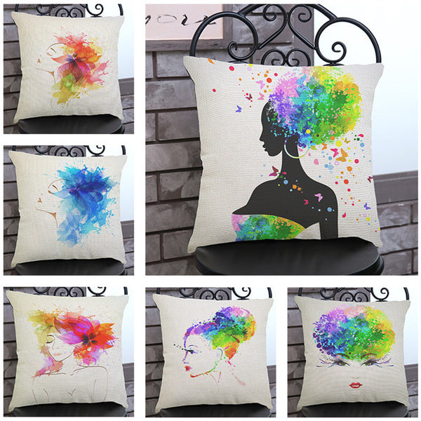 Black Girl Magic Throw Pillows - Assorted Styles