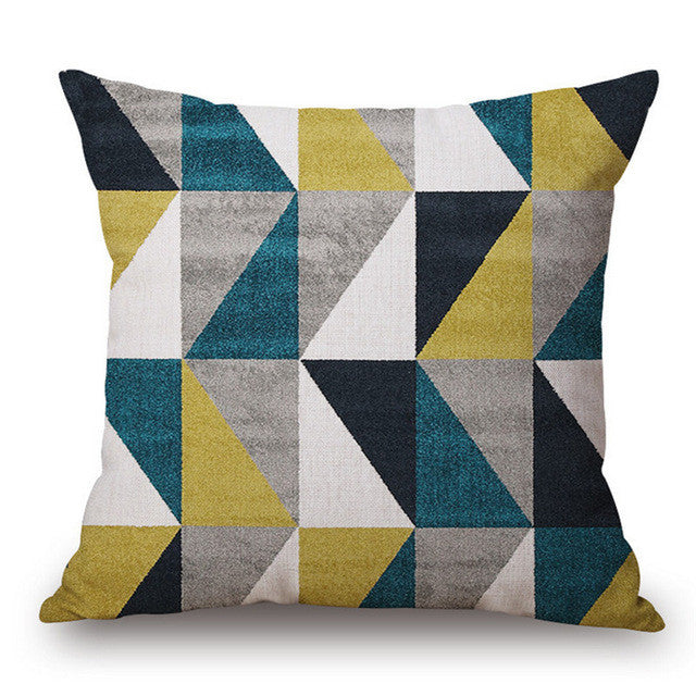 Modern Geometric Throw Pillows - Assorted Styles