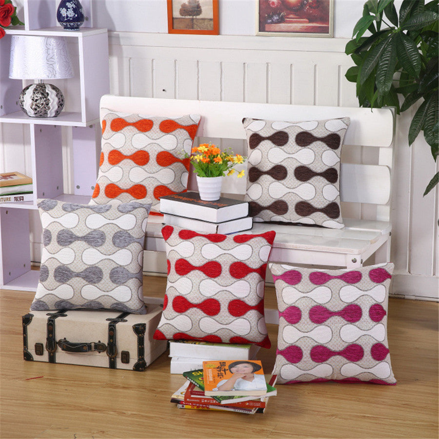 Geometric Throw Pillows - Assorted Colors