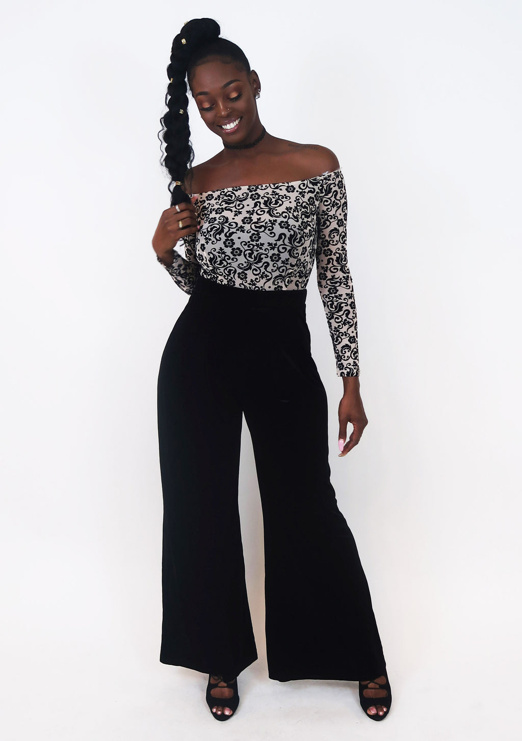 Velvet Dreams Jumpsuit