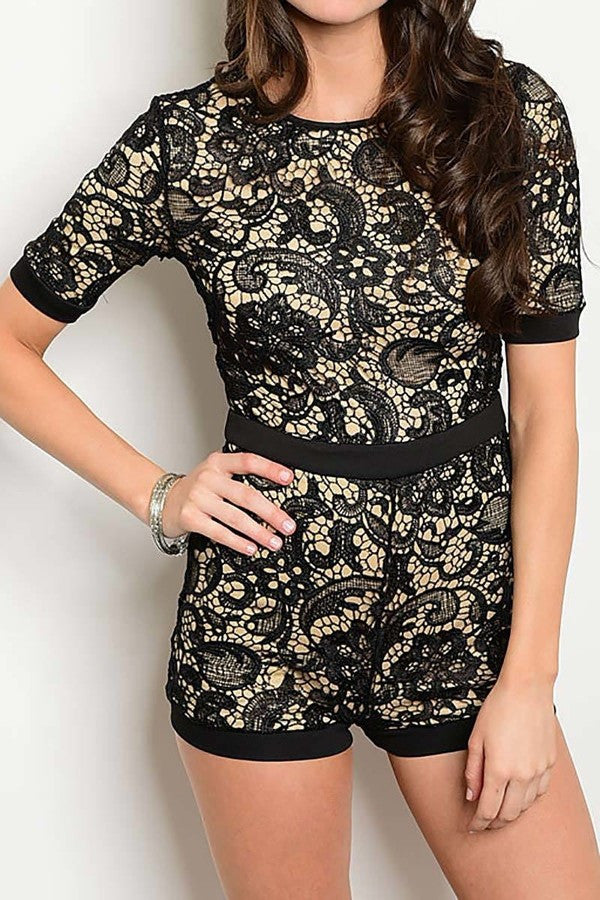 Carry on the Night Romper
