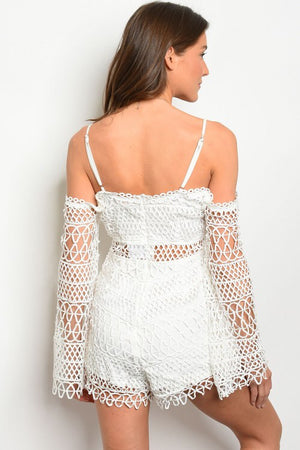 White Angel Romper