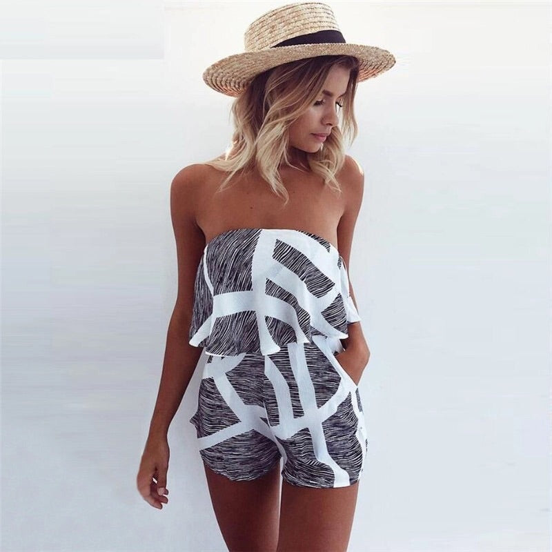 Grey Living Romper