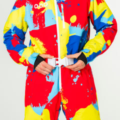Bankski all in one ski suit onesie chunky belt