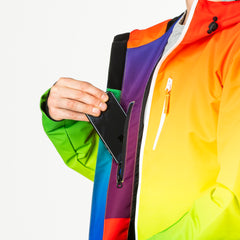 Over the rainbow all in one ski suit onesie Media Pocket
