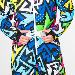 Prosecco Supernova all in one ski suit onesie chunky belt