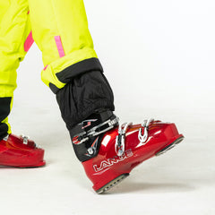 Rubarb and Custard all in one ski suit onesie Ankle Gator