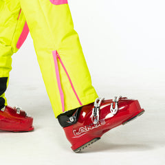 Rubarb and Custard all in one ski suit onesie Ankle Zip