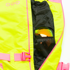 Rubarb and Custard all in one ski suit onesie mesh goggle pocket