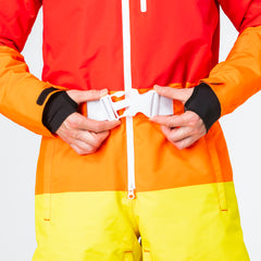 Suit Pastille all in one ski suit onesie chunky belt
