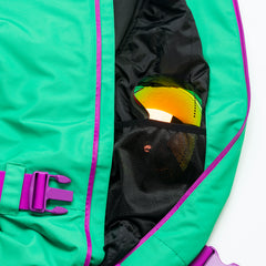 The Hulk all in one ski suit onesie mesh goggle pocket