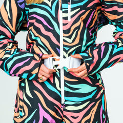 Tony the Tiger all in one ski suit onesie chunky belt