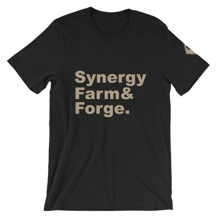 Synergy Farm & Forge Crew Tee