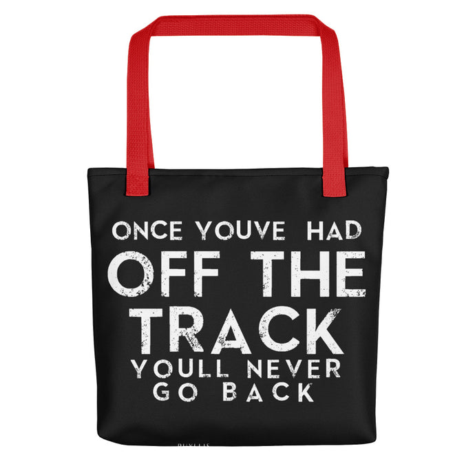 Off The Track Signature Tote