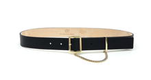 Load image into Gallery viewer, Shea Belt in Black Gold