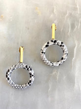 Load image into Gallery viewer, Juana Snake and Gold Earrings