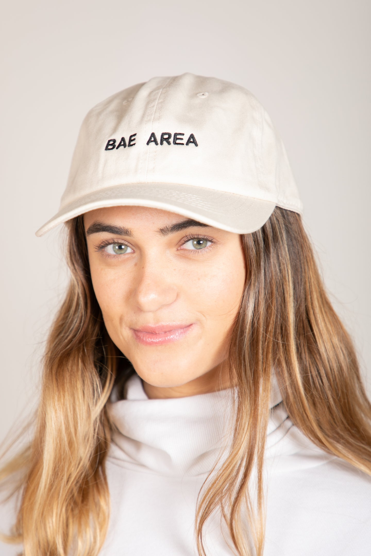 Bae Area Hat Ivory