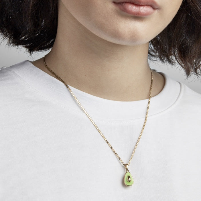 Avocado Charm Necklace