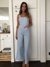 Load image into Gallery viewer, Sailor Ramie Jumpsuit in Sky Blue