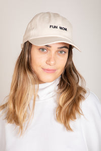 Fun Mom Hat Ivory