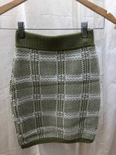 Load image into Gallery viewer, Madison Plaid Sweater Skirt