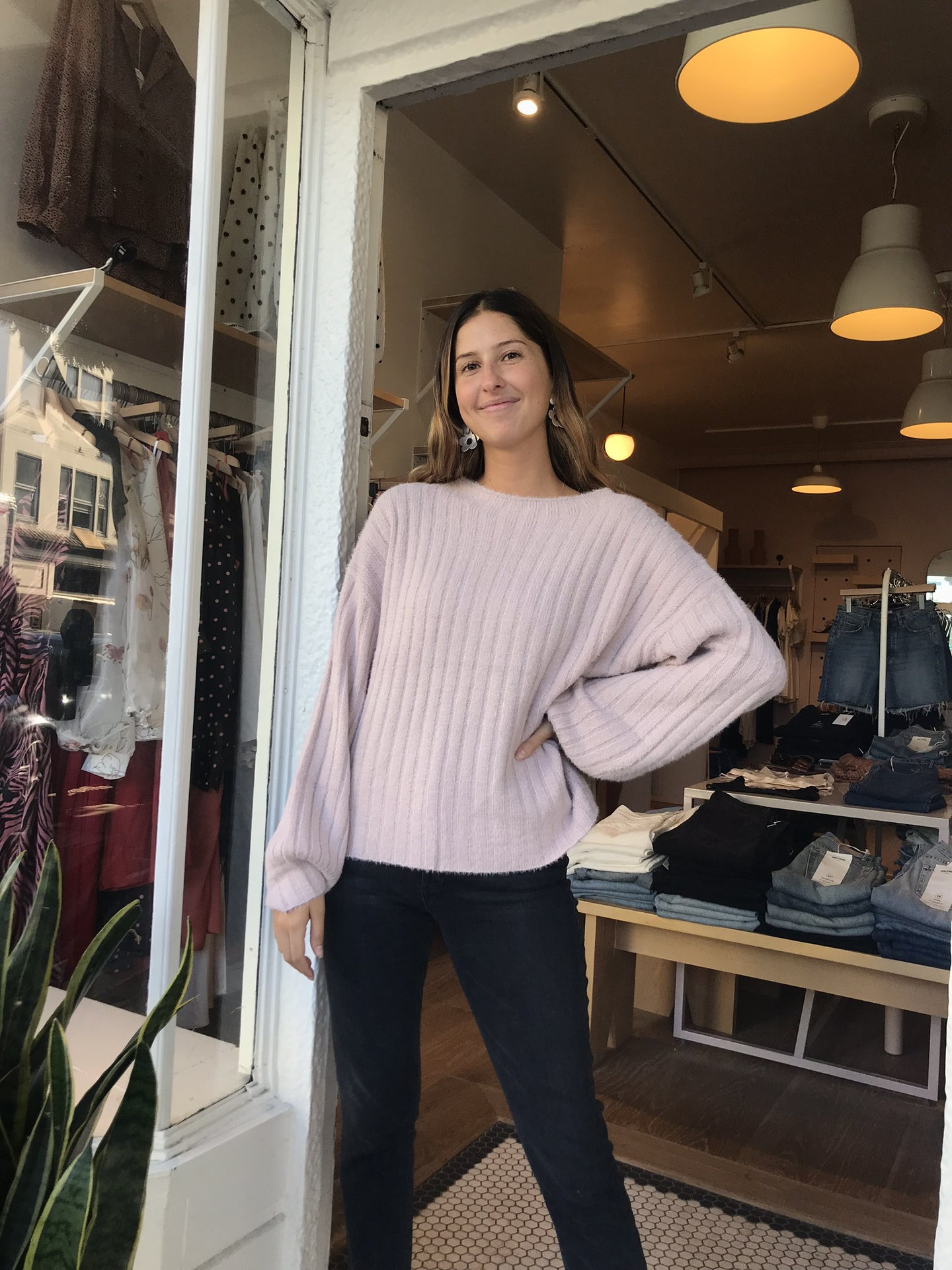 Kapella Ribbed Sweater
