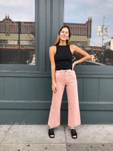 Load image into Gallery viewer, Grace Ankle Jean in Dusty Pink