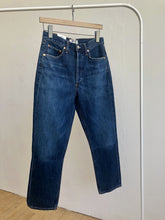 Load image into Gallery viewer, Riley High Rise Straight Crop Jeans in Desolate