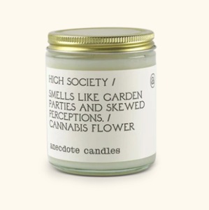 Glass Jar Candle High Society