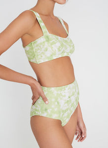 Provence Top in Roos Tie Dye Lime