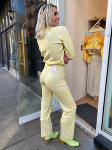 The Bay Tracksuit Pant in Blonde