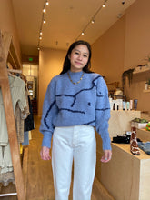 Load image into Gallery viewer, Palmira Sweater in Light Blue
