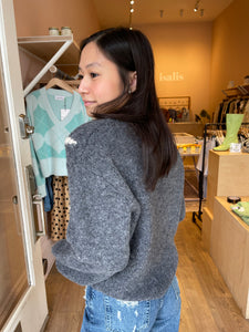 Palmira Sweater in Dark Grey