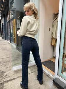 Lana Mid Rise Vintage Straight Jean in Disorder