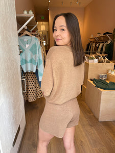 Spencer Shorts in Almond