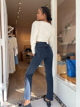 Load image into Gallery viewer, Lana Mid Rise Vintage Straight Jean in Disorder
