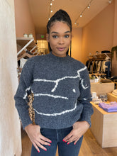 Load image into Gallery viewer, Palmira Sweater in Dark Grey