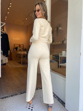 Load image into Gallery viewer, Eden Knit Pant in Cream