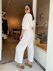 Verona Puff Sleeve Jumpsuit