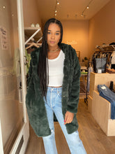 Load image into Gallery viewer, Celina Coat in Army Green