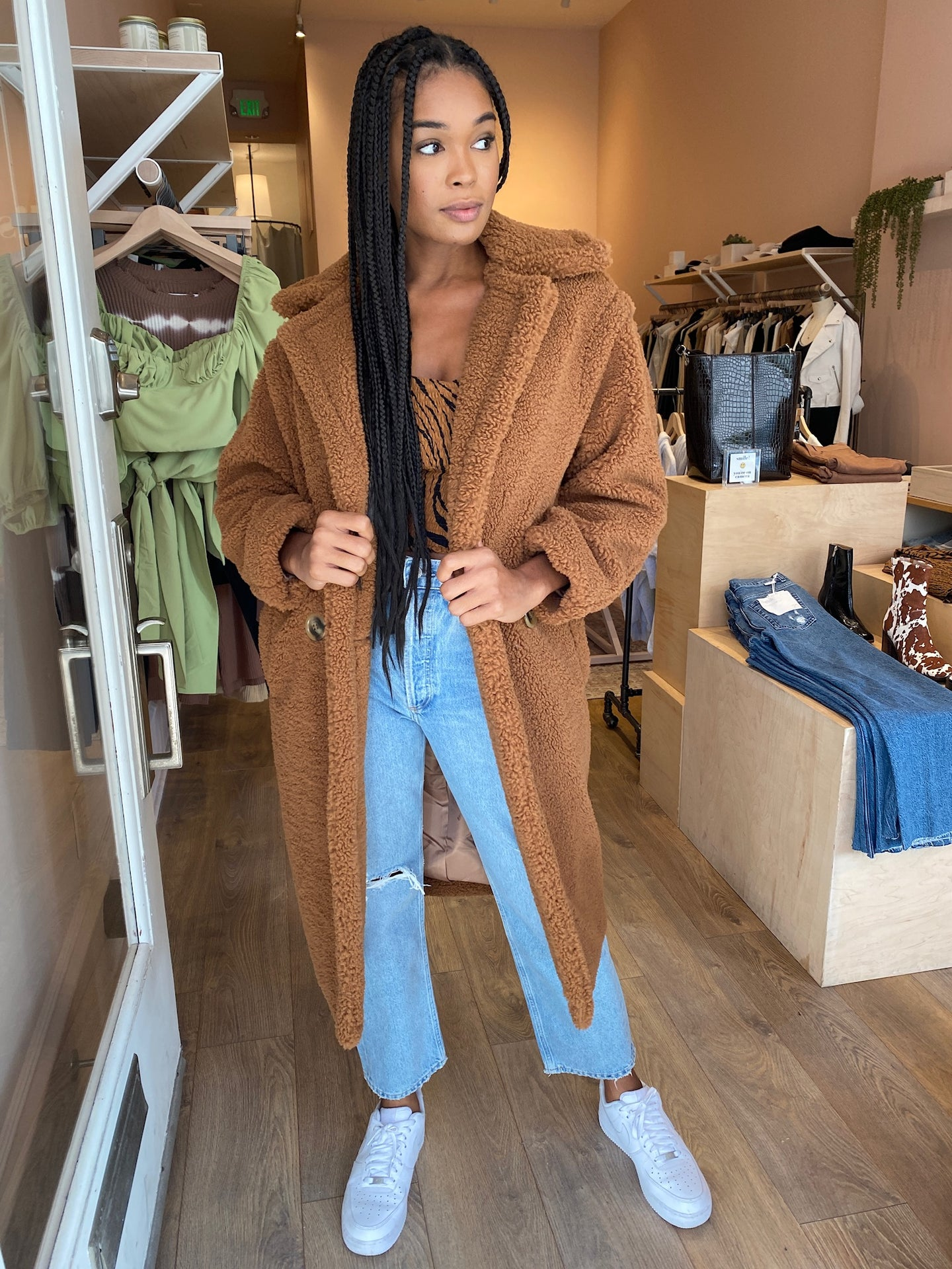 Daryna Coat in Camel
