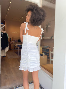 Aiko Dress in White
