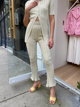 Load image into Gallery viewer, Rickie Bell Ribbed Pant Tea
