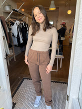 Load image into Gallery viewer, Classic Turtleneck in Taupe Rib