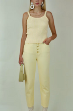Load image into Gallery viewer, Peggy Knit Tank in Blonde